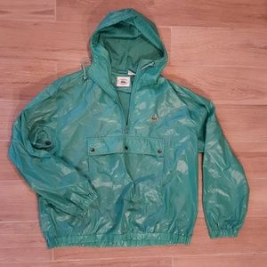 Vintage Izod Lacoste Windbreaker Rain Jacket
